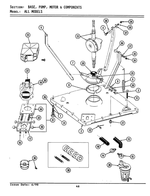 Maytag La7800 Washer Parts And Accessories At Partswarehouse