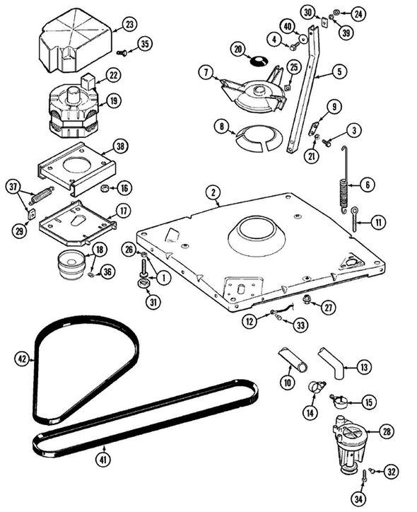 Maytag Lat9416aae Washer Parts And Accessories At Partswarehouse