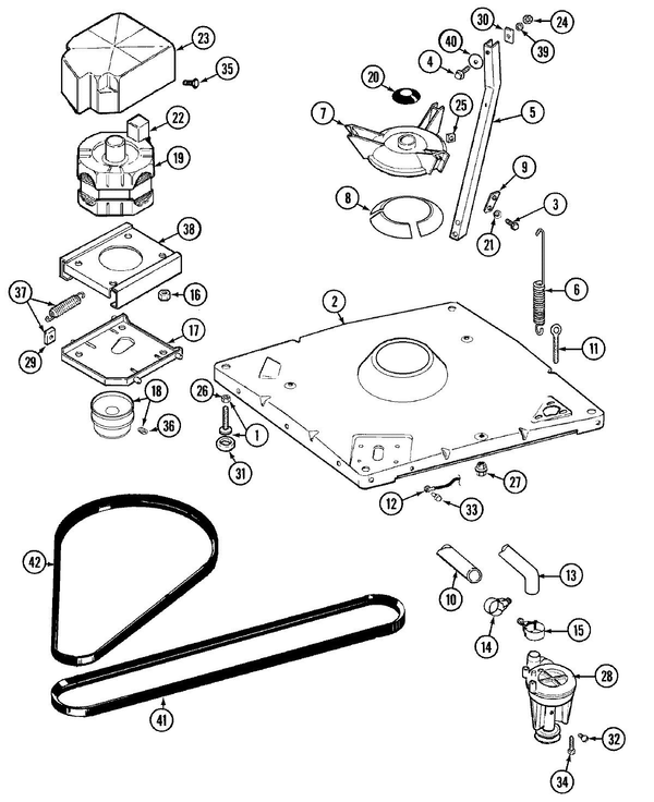 Maytag Lat9605aae Washer Parts And Accessories At Partswarehouse