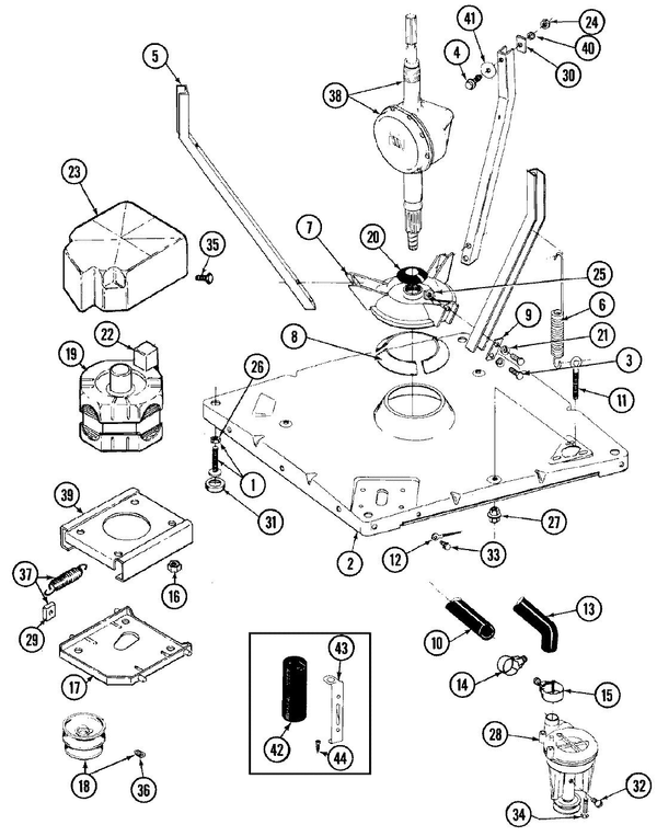 Maytag LAT9704GGE Washer Parts and Accessories at PartsWarehouse