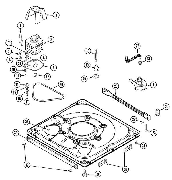 Maytag Mav7057aww Washer Parts And Accessories At Partswarehouse