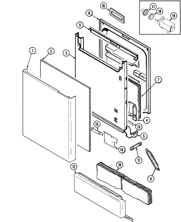 kubota l245dt parts diagram