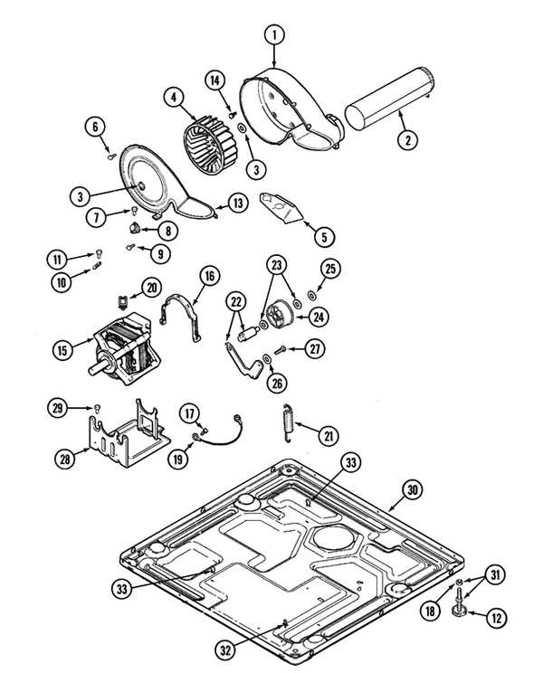 Maytag Mde16csdyw Electric Dryer Parts And Accessories At Partswarehouse