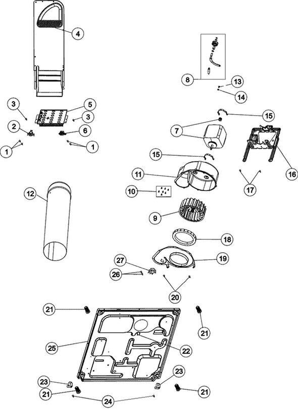 Wiring Diagram For Mde508dayw And Schematic