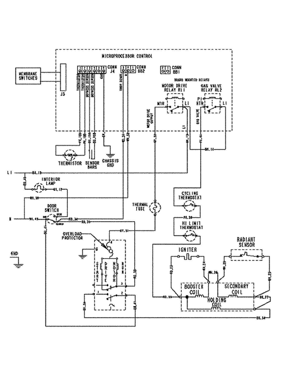 Maytag mdg5500awq dryer parts and accessories at partswarehouse on maytag dryer power cord wiring diagram 3 Wire Dryer Connection Maytag Dryer Electrical Schematic
