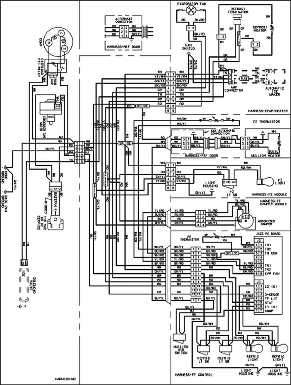 Indesit refrigerator wiring diagram indesit refrigerator wiring diagram wiring diagram and engine swarovskicordoba