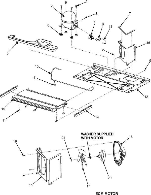 Maytag Mzd2665hew Side By Side Refrigerator Parts And Accessories At