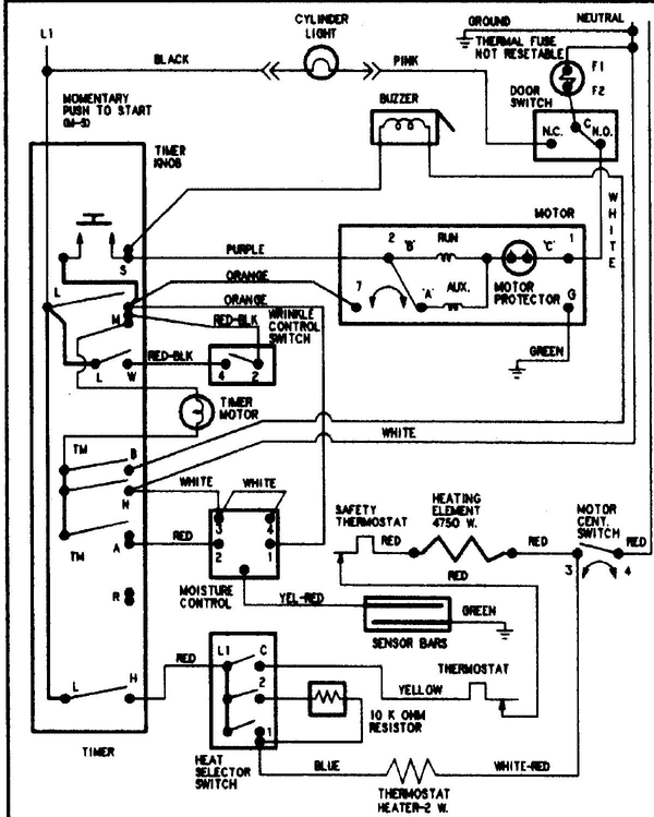 Pye4557ayw Wiring Diagram For Timer - DIY Enthusiasts Wiring Diagrams •