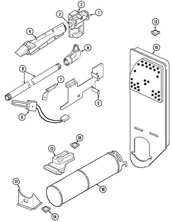 Maytag Pygt444aww Dryer Parts And Accessories At Partswarehouse