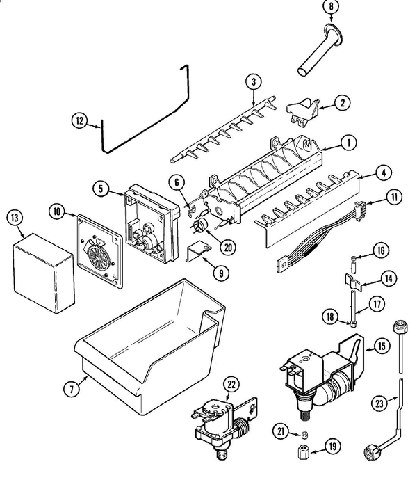 Maytag Ice Maker Diagram
