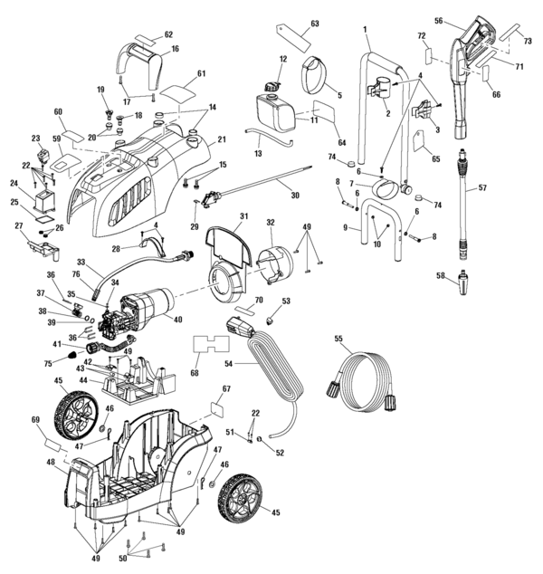 Assembly furthermore 00001 moreover Troy Bilt 020489 Pressure Washer Parts additionally Generac Gp7500e Wiring Diagram also 11047961564587486. on pressure washer trigger parts
