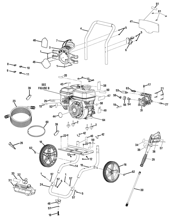 Powerstroke Ps80544 Powerstroke Pressure Washer Parts And