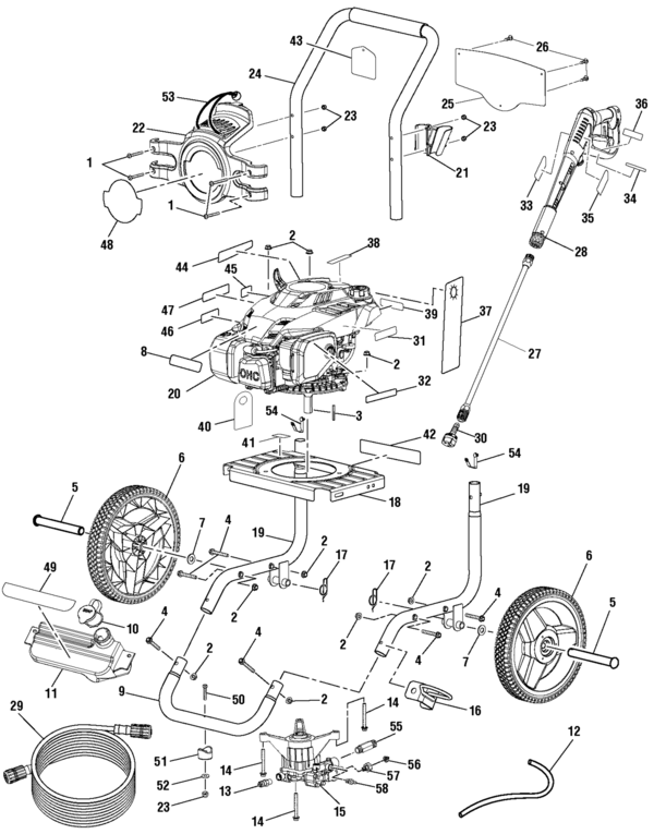 Powerstroke Ps80945 Powerstroke Pressure Washer Parts And