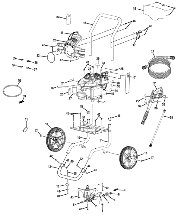 Powerstroke Ps80995 Powerstroke Pressure Washer Parts And