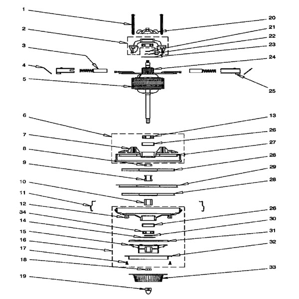 rexair rainbow d4 se repair parts diagrams rh partswarehouse com