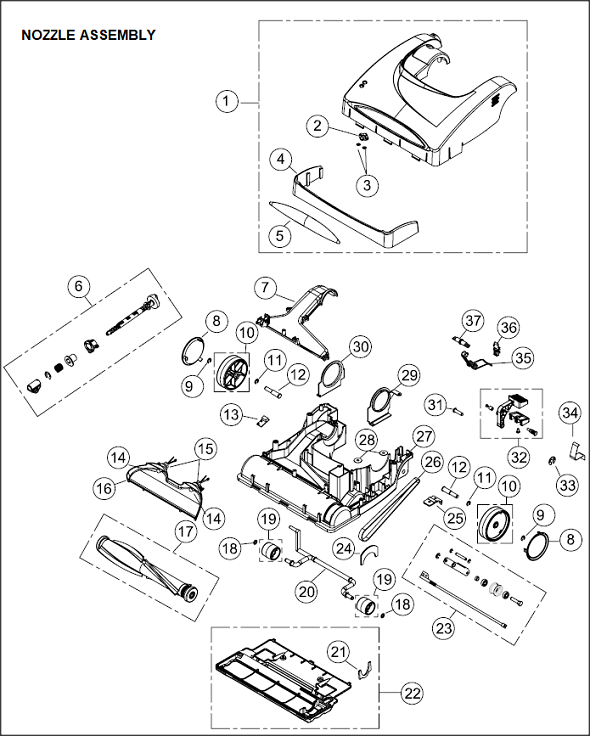 furnace parts diagram