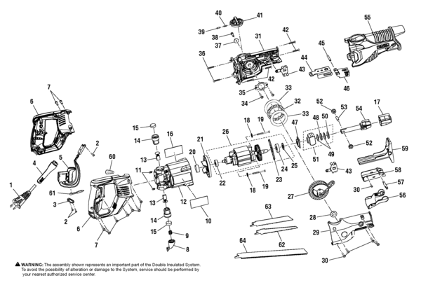 ridgid r3020 reciprocating saw parts and accessories