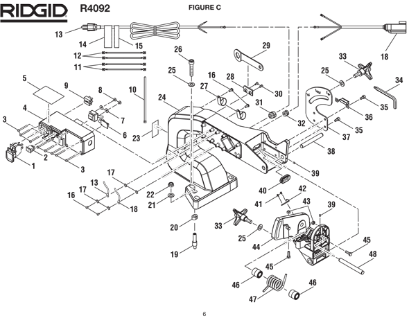 Motor Wiring Diagram For Ridgid. Dc Motor Wiring Diagram For M. Wiring. General Electric Motor Parts Schematic At Scoala.co