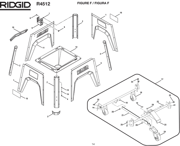 Ridgid r4512 10 table saw parts and accessories partswarehouse ridgid r4512 greentooth Image collections