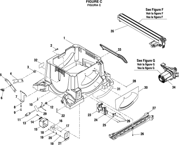 ridgid r4513 table saw | partswarehouse on hitachi table saw wiring  diagram, dewalt dw744 wiring