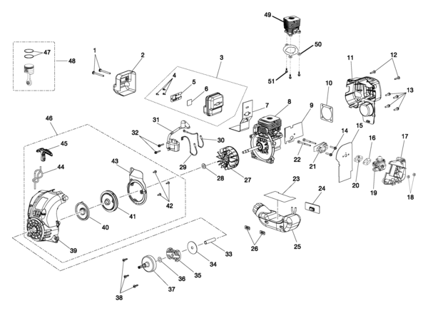 ryobi ry30140 30cc string trimmer parts and accessories partswarehouse rh partswarehouse com ryobi weed eater parts diagram ryobi gas trimmer parts diagram