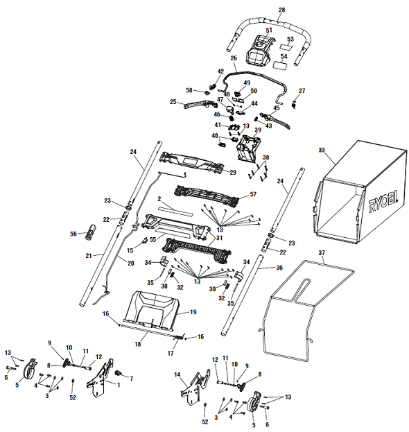 Images Of Huskee Lawn Mower Parts Diagram Mtd Lt4200 13w2775s031