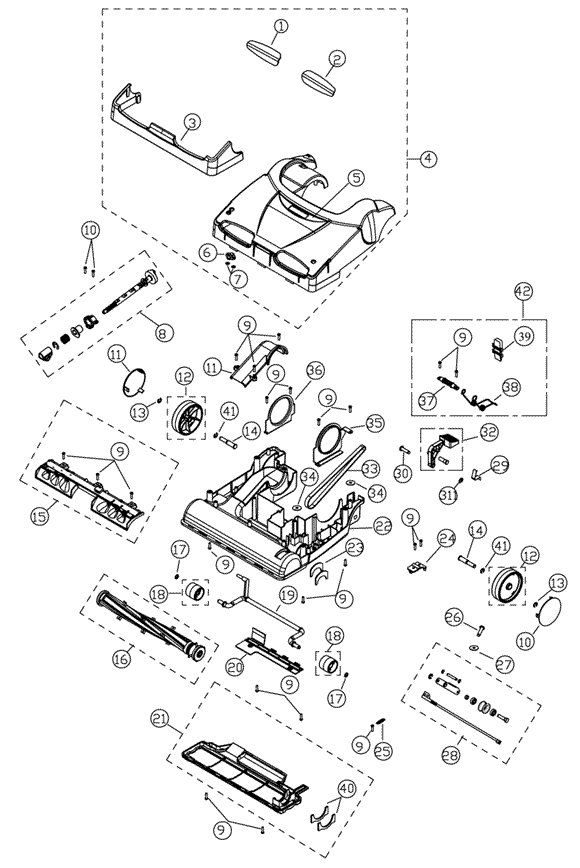 Go Back Gt Gallery For Gt Dyson Vacuum Cleaner Diagram