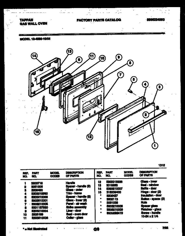 tappan 400 wiring diagram wiring free printable wiring diagrams
