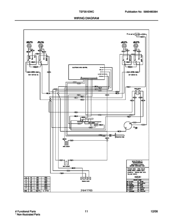Frigidaire Electric Range Wiring Diagram - The Best Wiring Diagram 2017