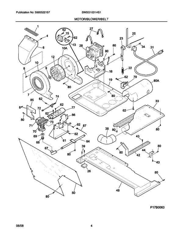 White Westinghouse Swsg1031hs1 Laundry Center Parts And Accessories