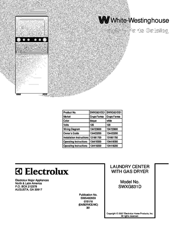 SWXG831DQ1 1 westinghouse dryer wiring diagram on westinghouse download wirning  at fashall.co