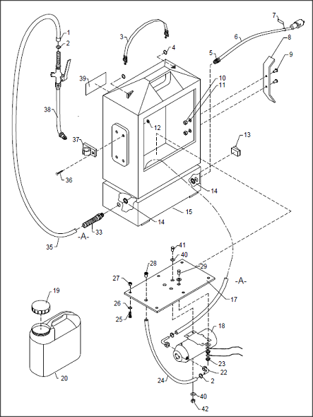 Toggle Switch Schematic