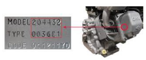 How to find your Briggs and Stratton model number. It's located on the back or bottom of your vacuum or steam cleaner.