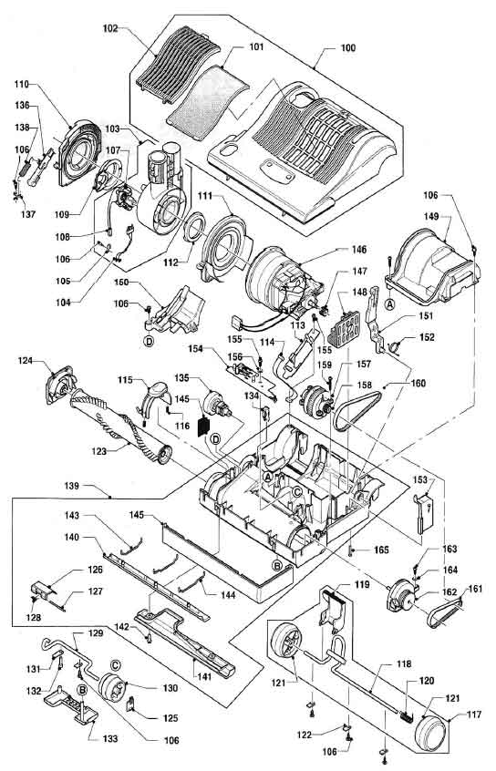 windsor sensor s12 repair parts  u0026 diagrams